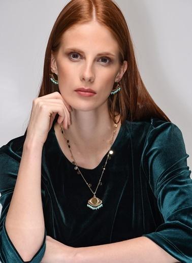 Anar Jewelry Kolye Sarı